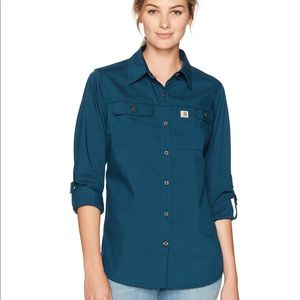 NWOT Women's Carhartt Button Down Shirt
